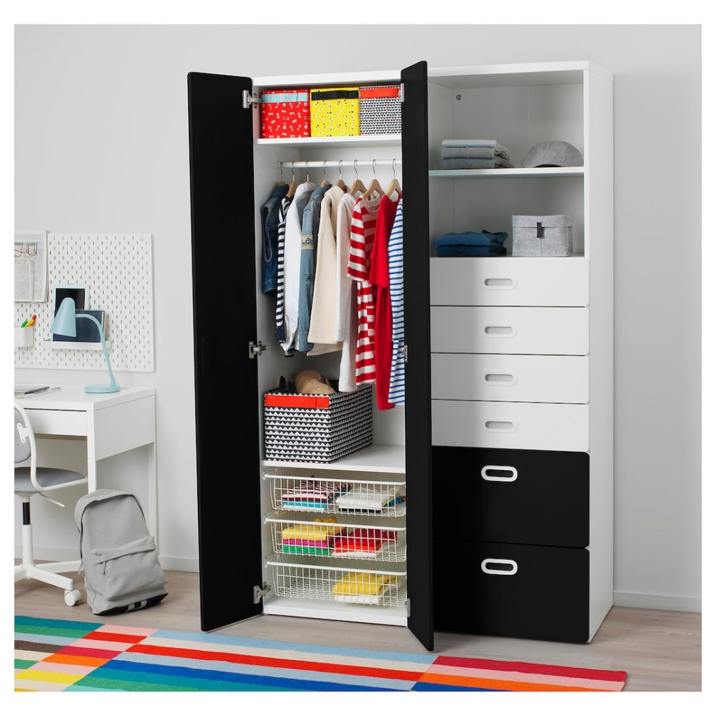 jongens kledingkast,stuva kledingkast,fritids kledingkast,ikea kledingkast,krijtbordverf kast
