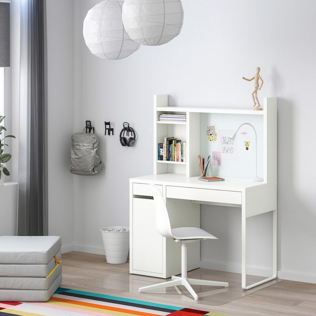 ikea bureau,ikea kinderbureau,wit bureau,scandinavisch bureau,bureau voor kinderen,meisjes bureau,jongens bureau