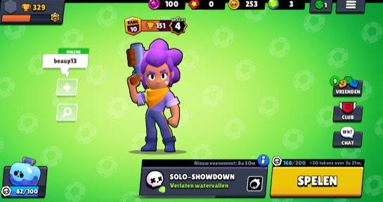 brawl stars,knokker shelly