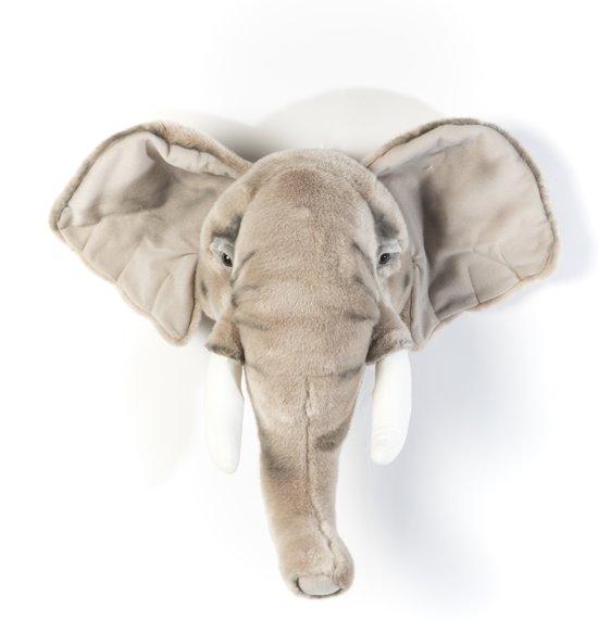 dierenkop,pluche dierenhoofd,olifanten hoofd,safari kamer,jungle babykamer,jungle slaapkamer