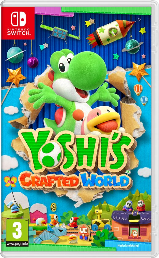 yoshi's crafted world,yoshi spel nintendo switch