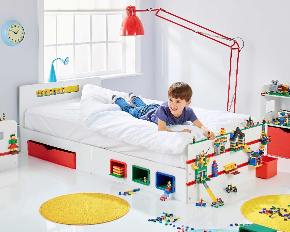 kinderbedden,lego bed