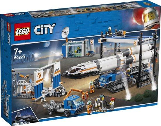 lego sets,lego raket,lego ruimtevaart,lego 60229,lego city