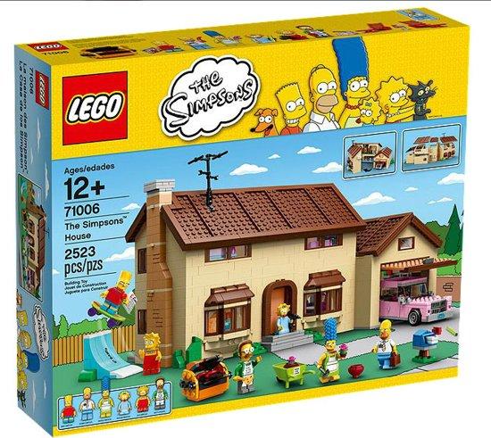 lego sets,lego the simpsons house,lego 71006