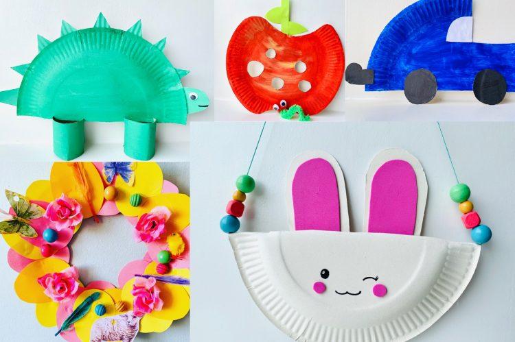 Ongekend Papieren bordjes knutselen: leuke en makkelijke ideeën - GN-92