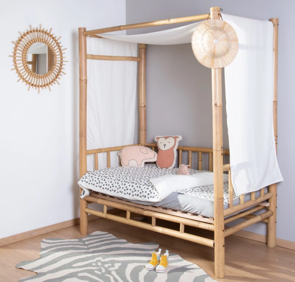 childhome bamboe bed,peuterbed,junior bed,hip peuterbed