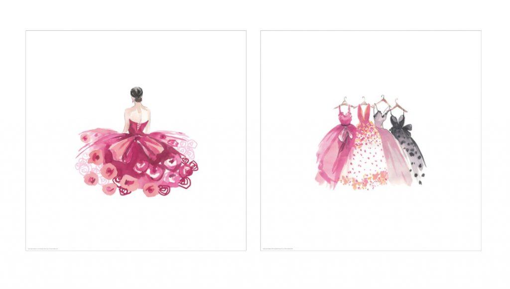 prinsessen slaapkamer,prinsessen poster,bild poster sprookjesprinses,roze,poster ikea