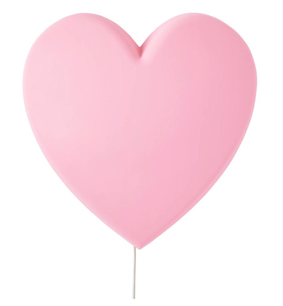 prinsessen slaapkamer,roze lamp,roze lamp hart,roze wandlamp,ikea lamp,lamp kinderkamer,lamp meisjeskamer