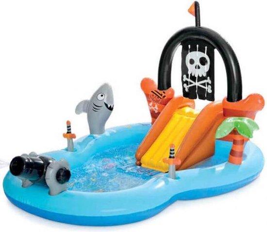 zwembad kopen,piraten zwembad,jongens zwembad,opblaasbaar zwembad,leuk zwembad