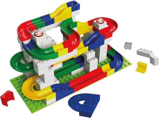 hubelino knikkerbaan,lego knikkerbaan,lego duplo knikkerbaan,tips kraamcadeau