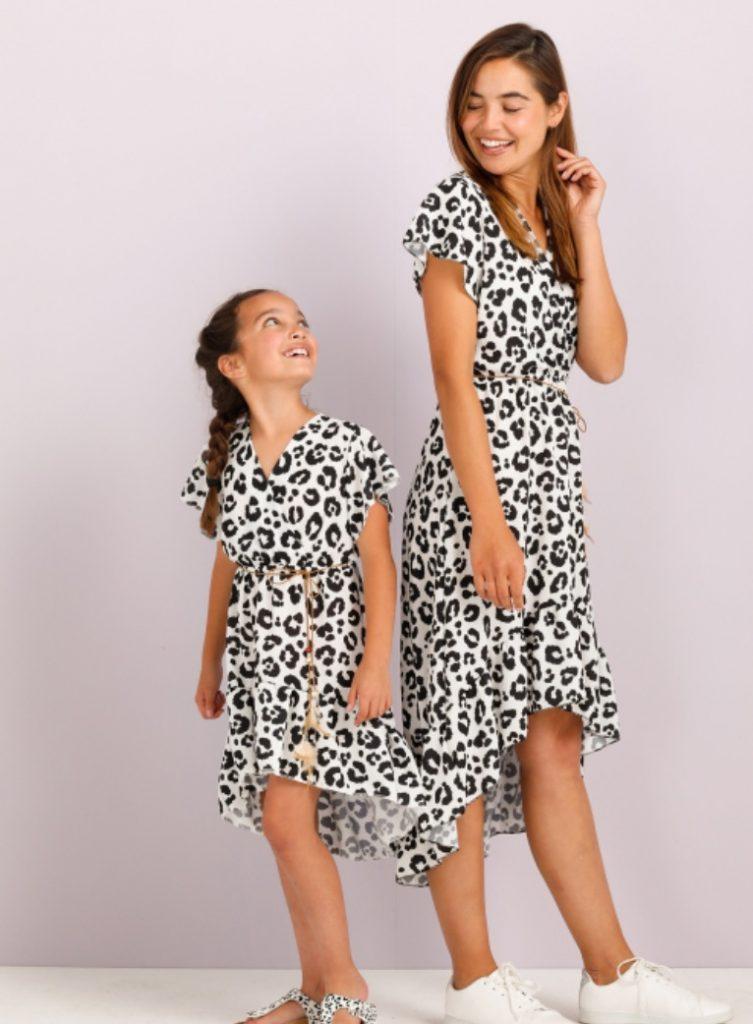 moeder dochter kleding,twinnen jurkjes,kleding voor moeder en dochter