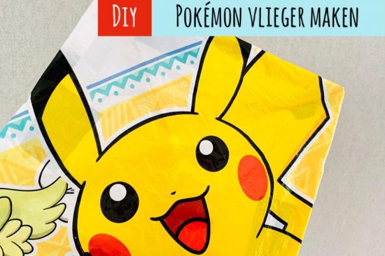 vlieger maken,vlieger knutselen,hoe maak je een vlieger,pokemon vlieger,pikachu vlieger,hoe maak je zelf een vlieger,vlieger diy