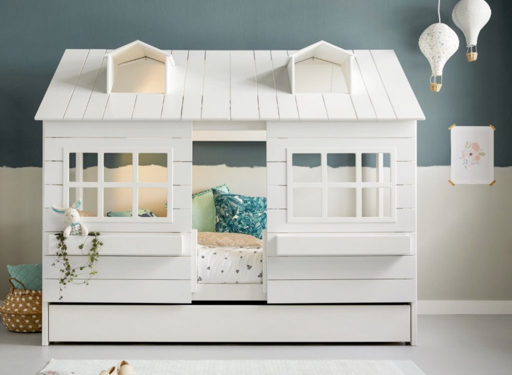 huis bed,huisjes bed,lifetime bed,lifetime kinderbed,bedstee bed