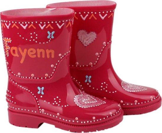 meisjes regenlaarzen,regenlaarzen met naam erop,gepersonaliseerde regenlaarzen,kraamcadeau,verjaardag meisje 4 jaar,tip cadeau meisje 4 jaar