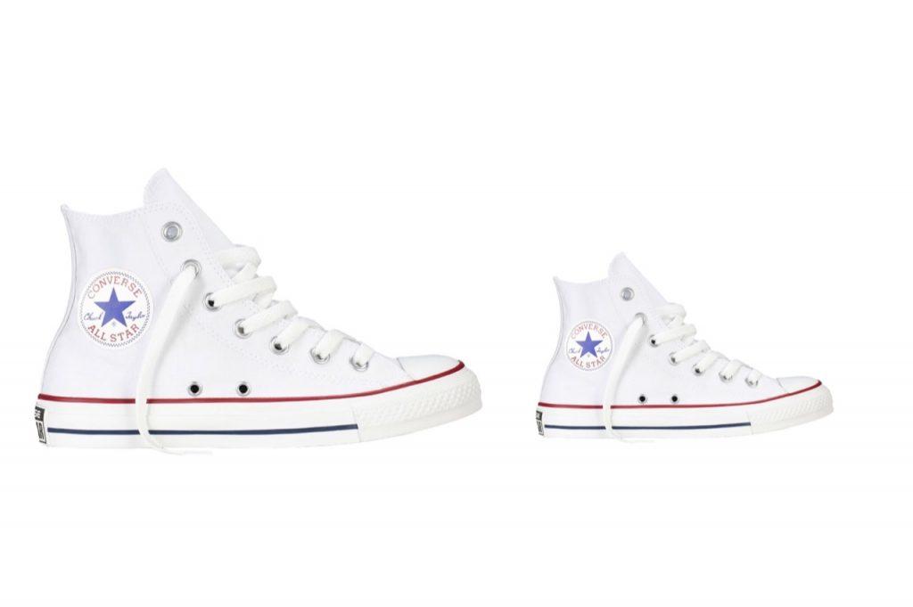 moeder dochter kleding,all stars,twinnen sneakers,dezelfde schoenen moeder dochter,meisje vrouw sneakers,witte chuck taylor all stars