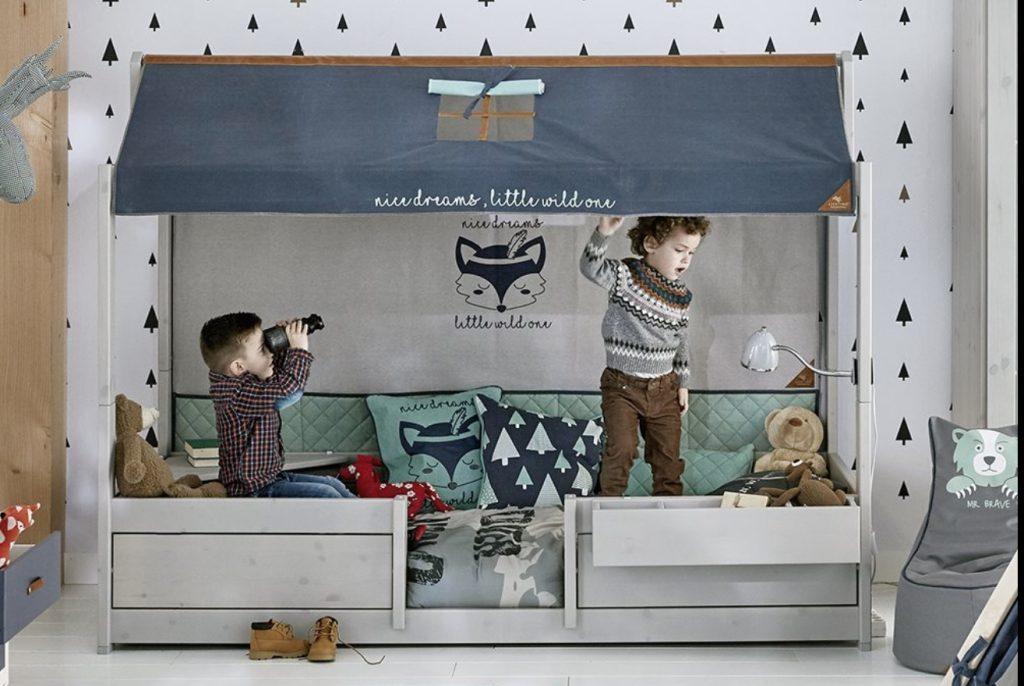lifetime kidsrooms 4 in 1 bed,meegroeibed,hutbed,jongens peuterbed,huisjesbed peuter,jongens bed