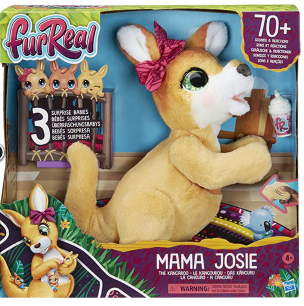 mama josie en de kangoeroe,furreal,cadeau meisje 6 jaar,cadeau meisje 5 jaar,cadeau meisje 7 jaar,nominatie speelgoed van het jaar 2020