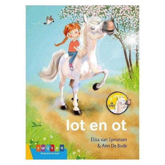 kinderboeken,avi start boekje,lot en ot,leren lezen paarden boekje