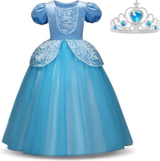 prinsessenjurk assepoester,verkleedkleding,prinsessen jurk kind