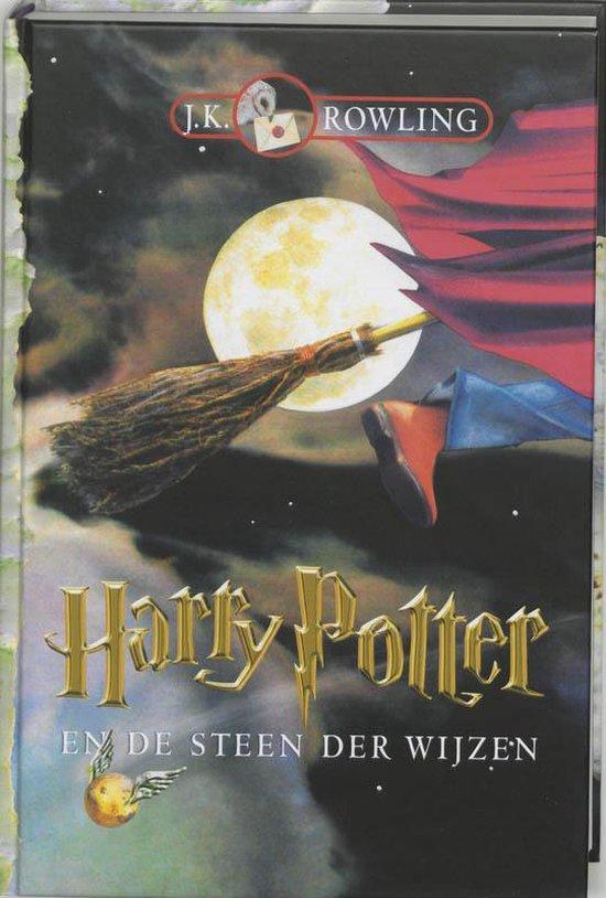 harry potter en de steen der wijzen boek