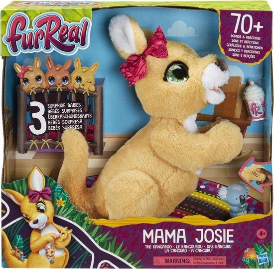 mama josie furreal,interactieve knuffel