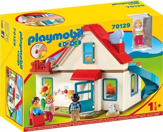 playmobil 1.2.3. woonhuis,123 playmobil woonhuis,rollenspel speelgoed,playmobil 70129,speelgoed dreumes,speelgoed kleuter,speelgoed peuter,tip sint cadeau peuter,tip sint cadeau kind 1 jaar,idee sinterklaas cadeau kind 2 jaar