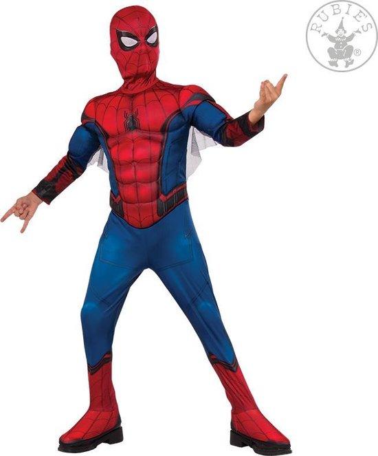 spiderman kostuum kind,spiderman pak kind,jongens verkleedkleding,jongens verkleed pak,superhelden pak,marvel kostuum kind