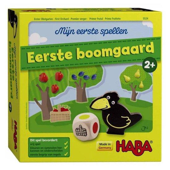 eerste boomgaard,spelletje vanaf 2 jaar,haba eerste boomgaard,tips cooperatieve spelletjes
