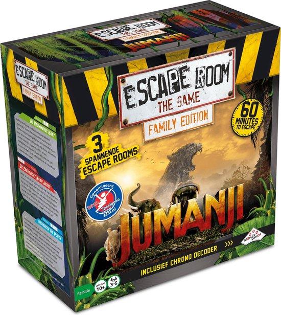 escape room the game jumanji,escape room spel,cooperatieve spelletjes vanaf 10 jaar,leuk spel vanaf 10 jaar