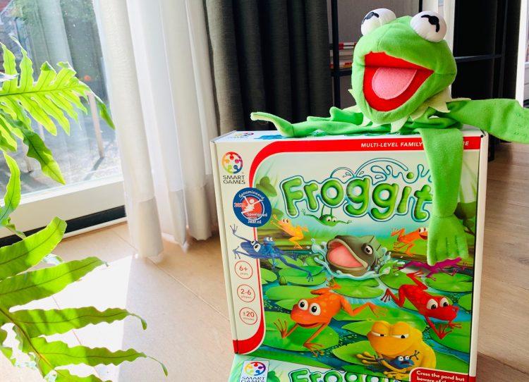 froggit review,smartgames spel,kikker spel,leuk gezelschapsspel
