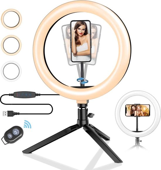 tiktok cadeaus,led ringlamp,selfie lamp,tiktok spullen