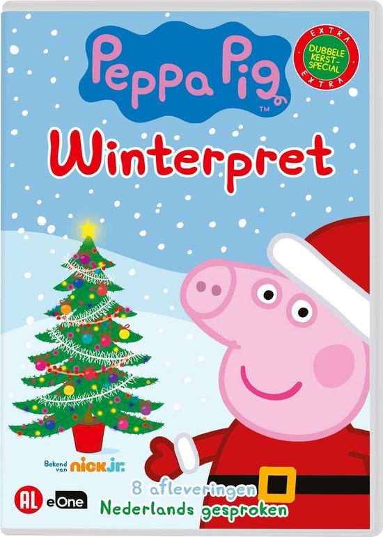 kerst dvd peppa pig,kerstfilm peppa pig,kerst cadeau peppa pig