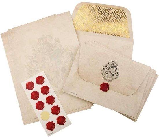 briefpapierset harry potter,schrijfwarenset harry potter,briefpapier en enveloppen harry potter