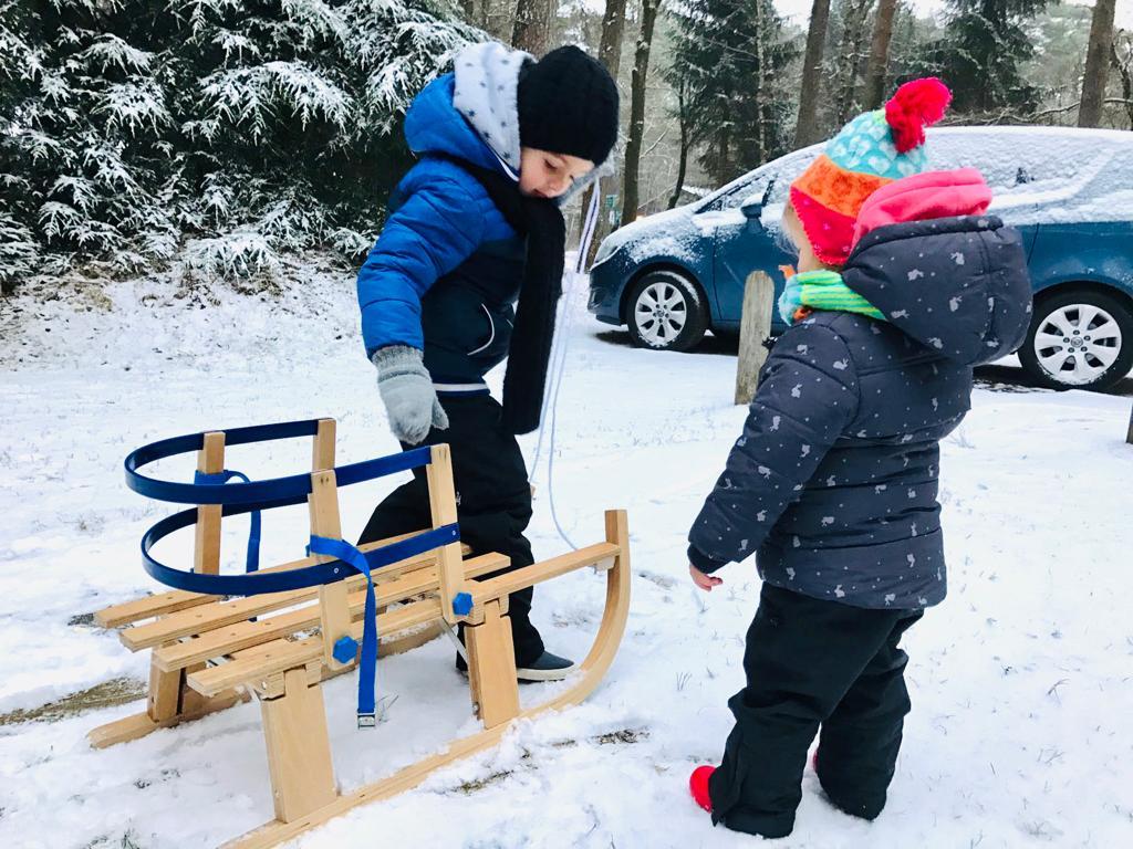 kerstvakantie tips en ideeen,sleeen in de sneeuw,tips en ideeen winter lockdown