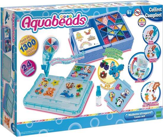 aquabeads luxe studio,cadeau knutselen meisje,speelgoed meisje 5 jaar,speelgoed meisje vijf jaar