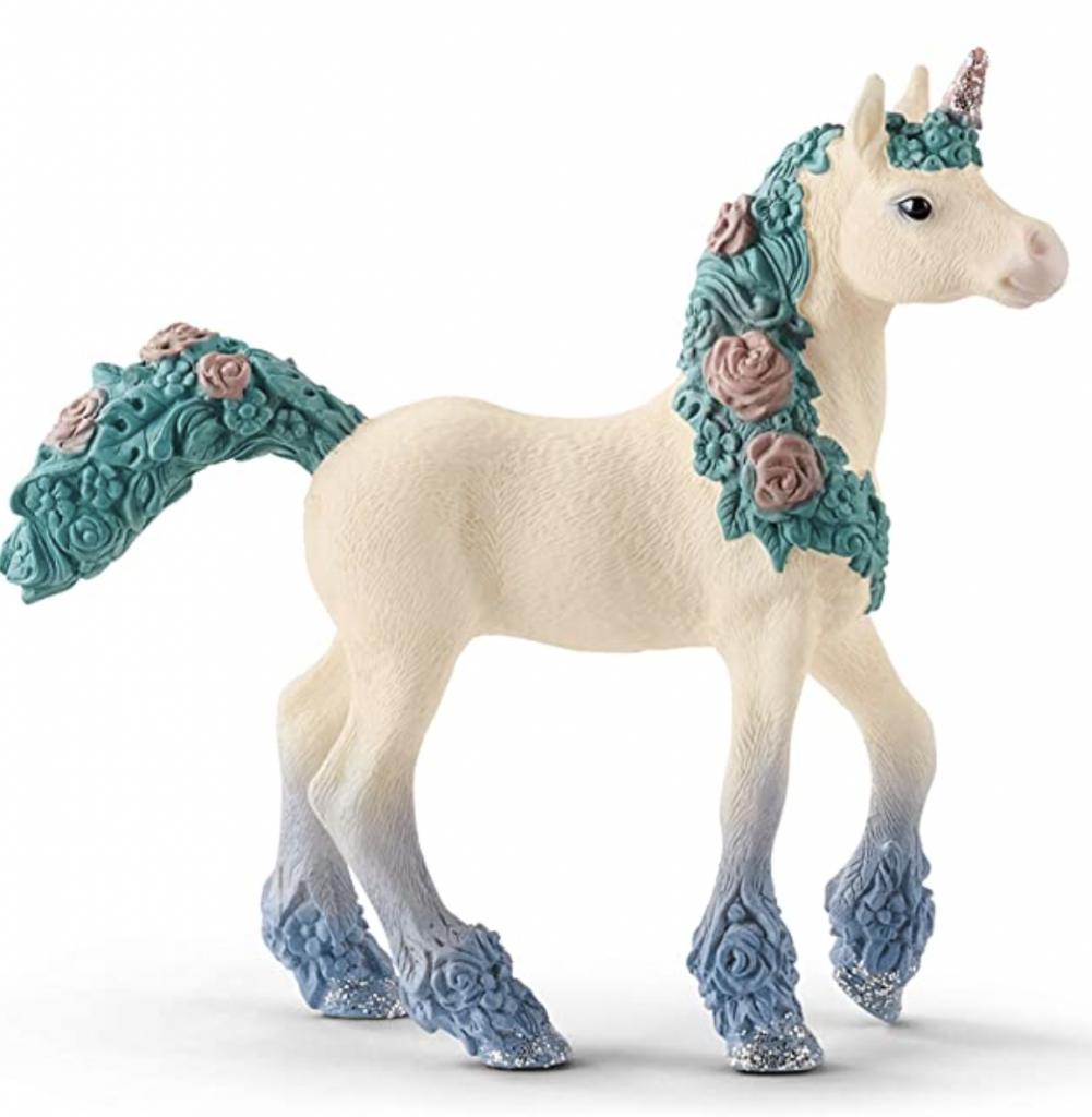 schleich flower unicorn paardje