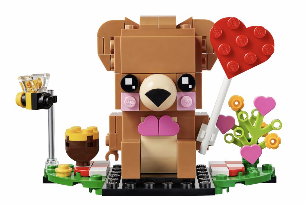 valentijnsbeer lego 40379 brickheadz,lego beer met hartje,valentijnsdag cadeautjes tips en ideeen