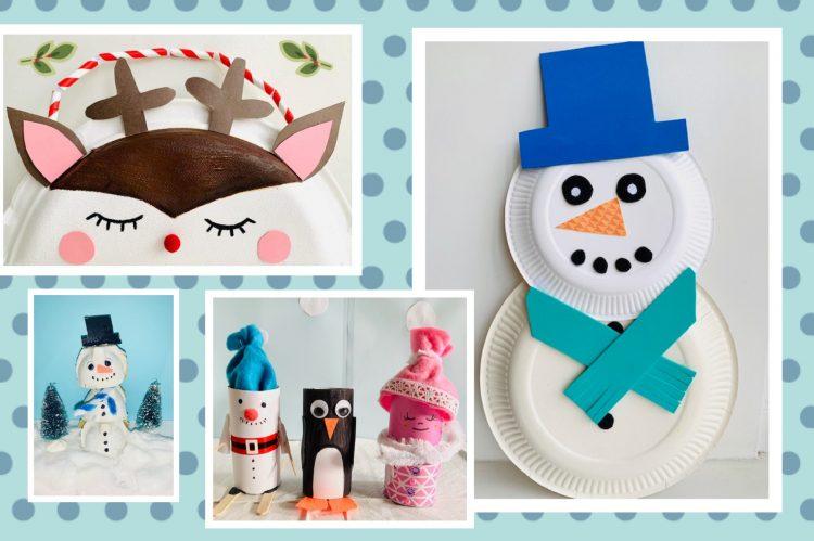 winter knutselen tips en ideeen,knutsel ideeen winter,knutselen met kleuters,knutselen met kinderen