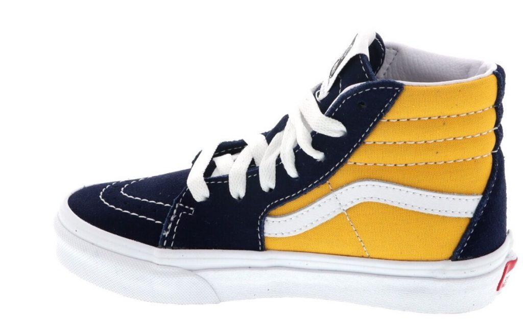 vans jongens schoenen blauw geel,vans sneakers kind
