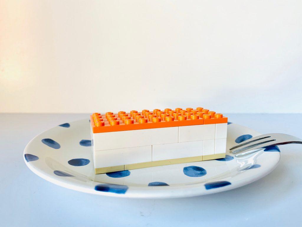 oranje tompouce van lego maken,koningsdag knutselen tips en ideeen,lego koningsdag