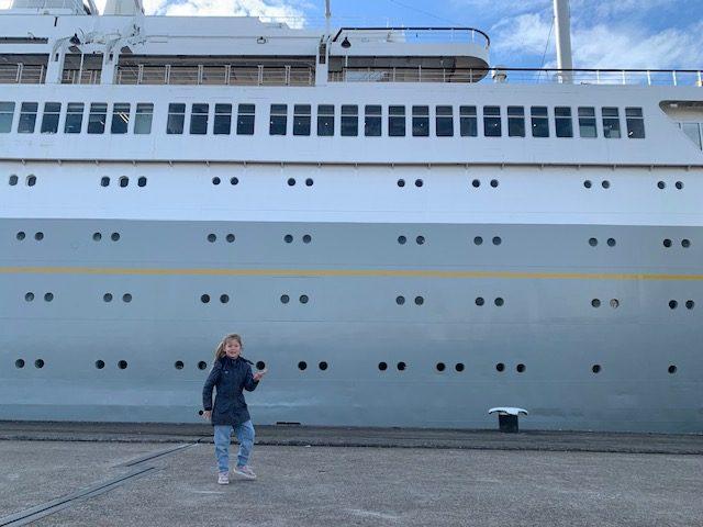 ss rotterdam cruiseschip,tof hotel rotterdam,overnachten op een cruiseschip
