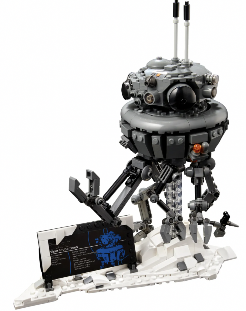imperial probe droid 75306 lego,lego star wars sets