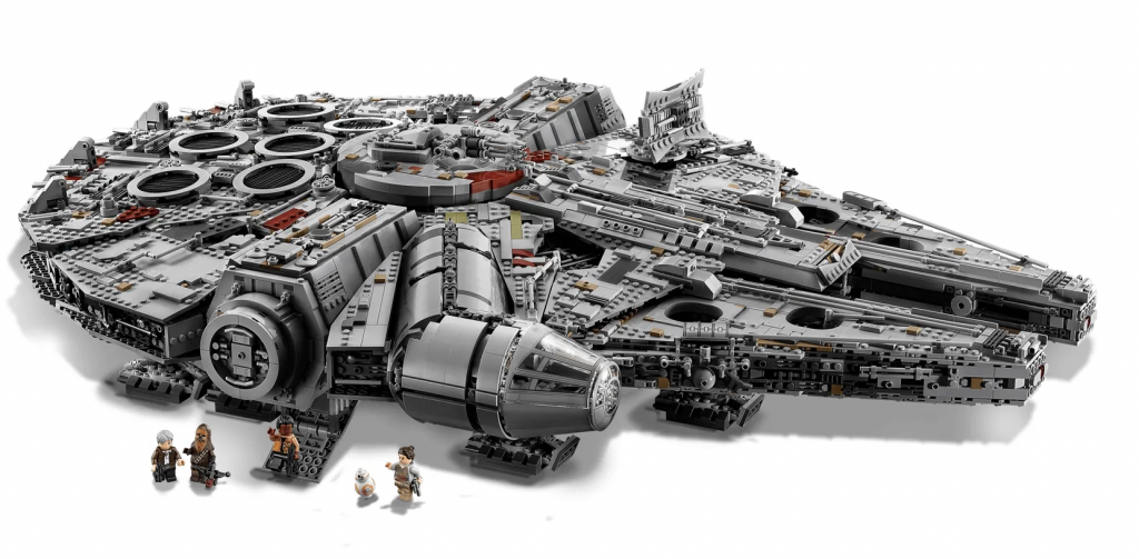 lego star wars millennium falcon 75192,collectors item lego star wars,unieke lego set,may the fourth,star wars day,may the 4th
