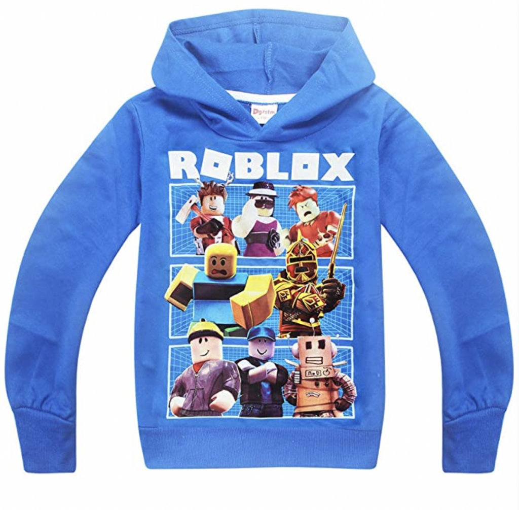 wat is roblox,roblox kleding,blauwe hoodie roblox