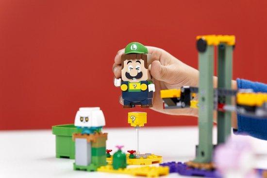 LEGO Super Mario Startset Avonturen met Luigi - 71387,cadeau jongen 8 jaar tips en ideeen
