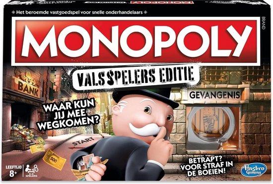 monopoly valsspelers editie,leuk spel jongen 8 jaar,verjaardagscadeau jongen 8 jaar tips en ideeen