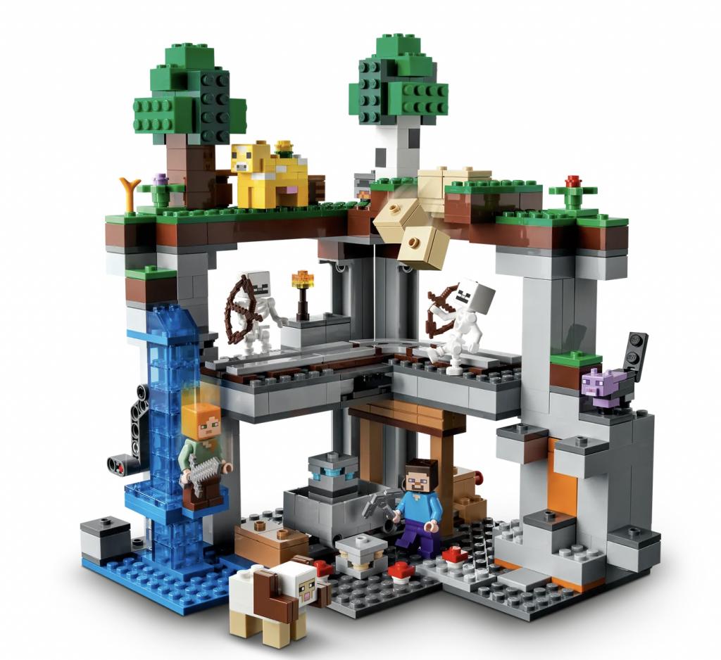 cadeau jongen 8 jaar,verjaardagscadeau jongen acht jaar tips en ideeen,lego minecraft het allereerste avontuur 21169