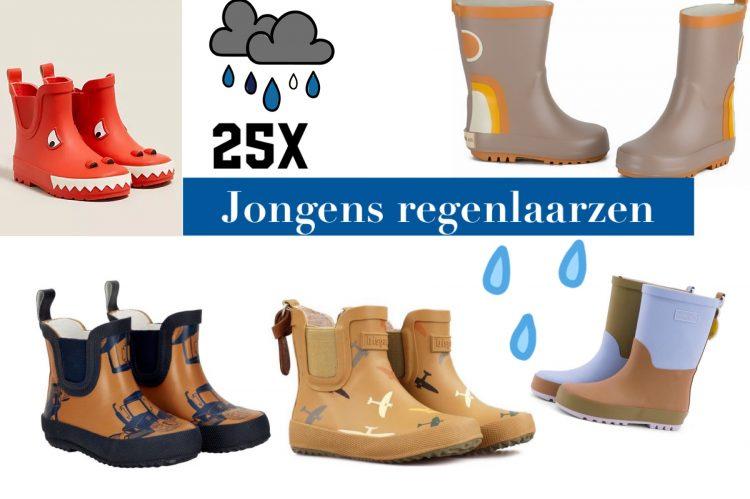 jongens regenlaarzen,kinder regenlaarzen,tips leuke regenlaarzen voor jongens,regenlaarzen kind
