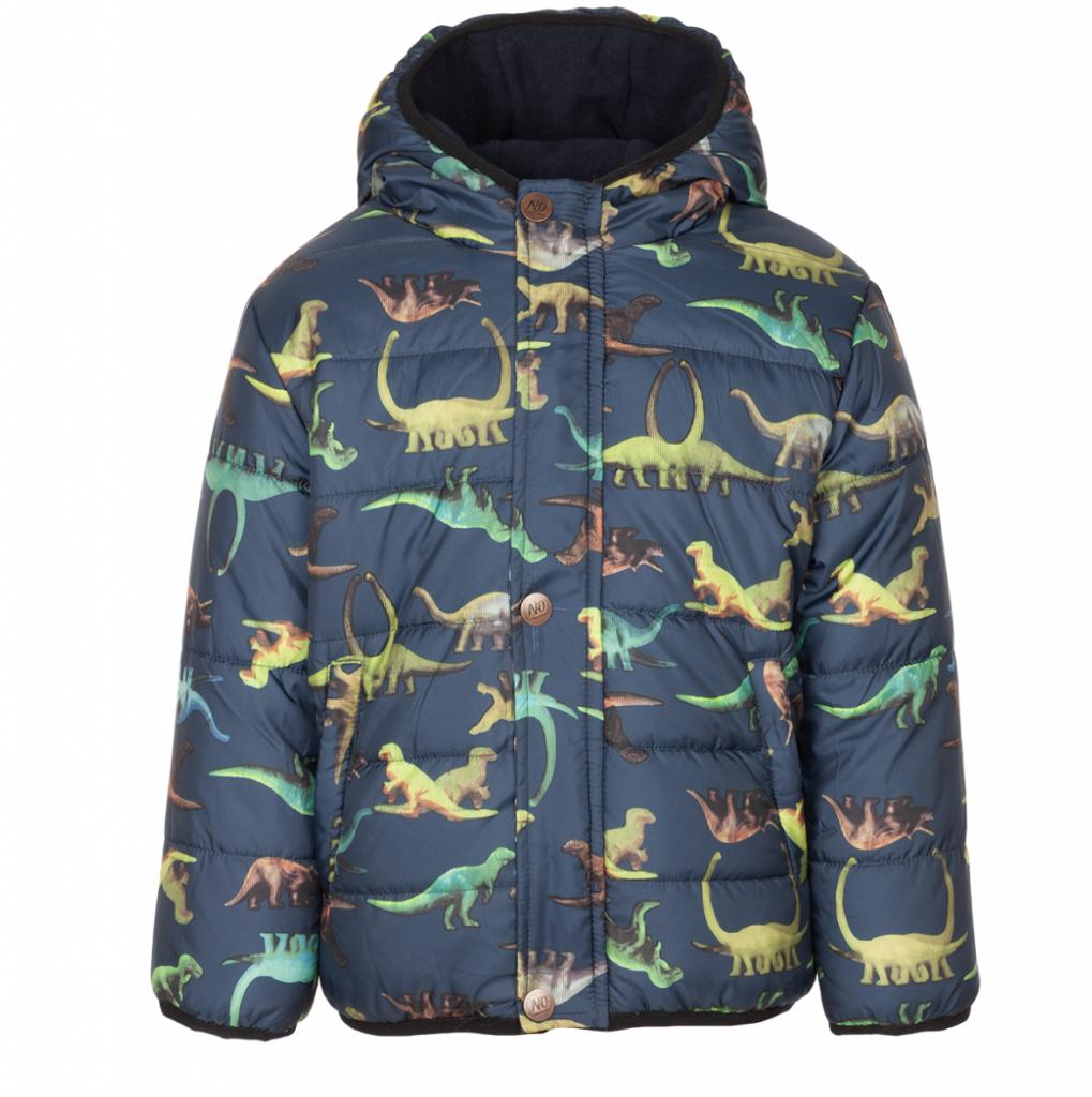 winterjas bristol,jas no compromise,jongens jas met dinosaurussen dino's