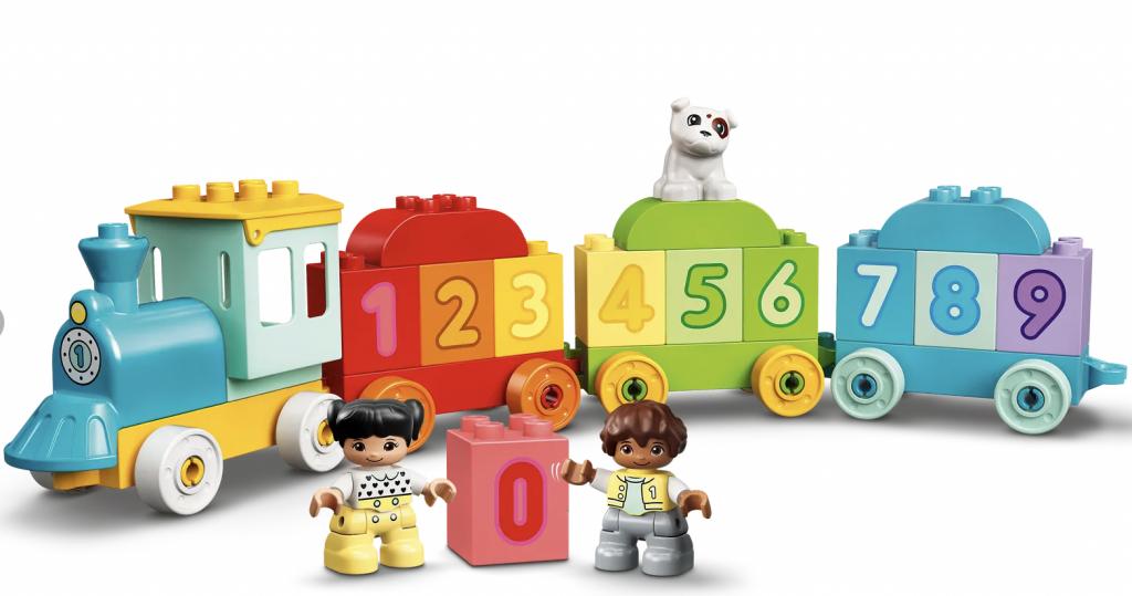 LEGO DUPLO getallentrein leren tellen (10954),speelgoed kind 2 jaar,speelgoed kind 3 jaar,speelgoed kind 4 jaar,speelgoed kind 5 jaar